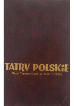 Tatry Polskie Mapa Topograficzna