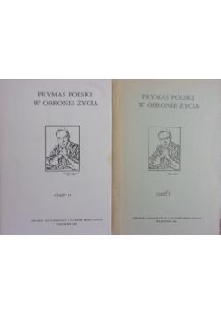 Prymas Polski w obronie życia 2 tomy