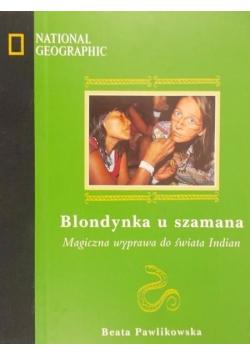 Blondynka u szamana plus płyta
