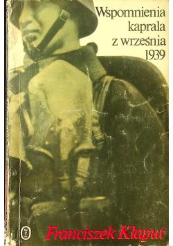 Wspomnienia kaprala z września 1939
