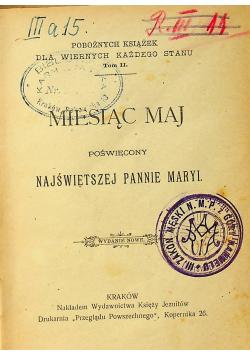 Miesiąc maj poświęcony najświętszej Pannie Maryi 1986 r