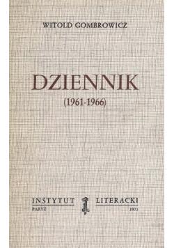 Dziennik 1961 1966