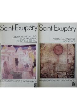 Saint Exupery Dwie książki