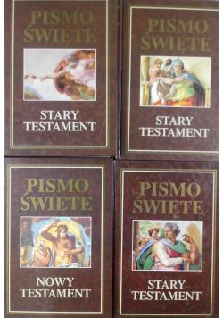 Pismo Święte Stary Testament 4 Tomy