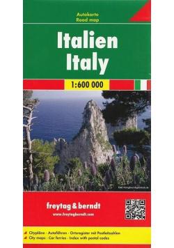 Mapa samochodowa - Włochy 1:600 000