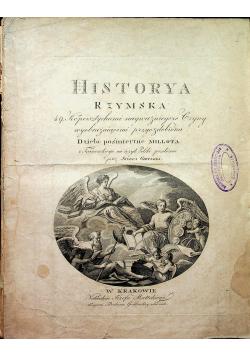 Historya rzymska Tom I i II 1815 r.