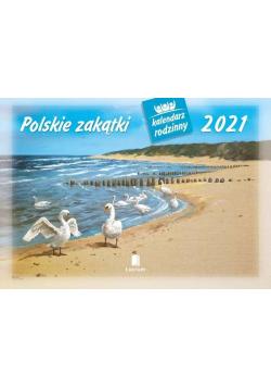Kalendarz 2021 Rodzinny Polskie zakątki WL7