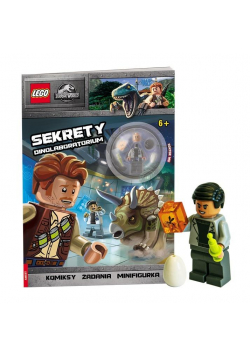 Lego Jurassic World. Sekrety Dinolaboratorium