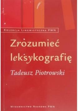 Zrozumieć leksykografię