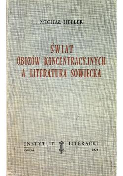 Świat obozów koncentracyjnych a literatura sowiecka