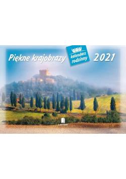 Kalendarz 2021 Rodzinny Piękne Krajobrazy WL4
