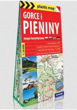 Plastic map Gorce i Pieniny 1:50 000