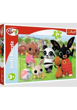 Puzzle 24 maxi Zabawa w parku TREFL