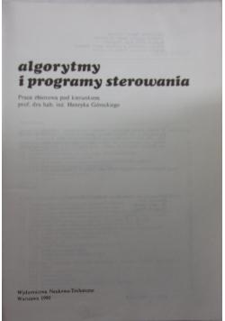 Algorytmy i programy sterowania