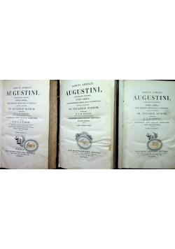 Sancti Aureli Augustini 3 tomy ok 1839 r
