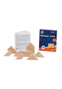 Puzzle drewniane - seria FAN