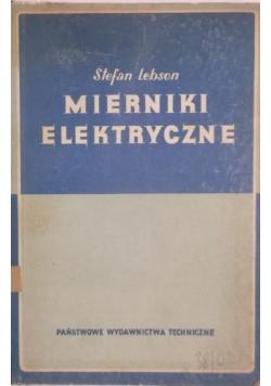 Mierniki elektryczne