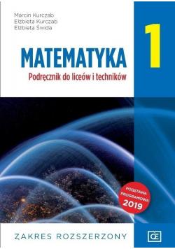 Matematyka 1 Podręcznik do liceów i techników Zakres rozszerzony