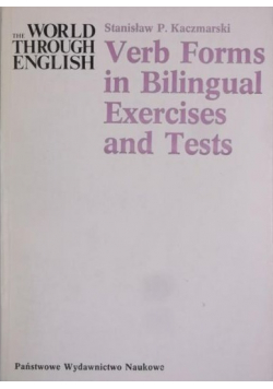 Verb Forms in Bilingual Exercises and Tests