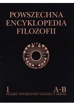 Powszechna Encyklopedia Filozofii t.1 A-B