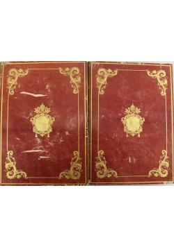 Pontificale Romanum Summorum  Pontificum Tom II i III 1848 r.