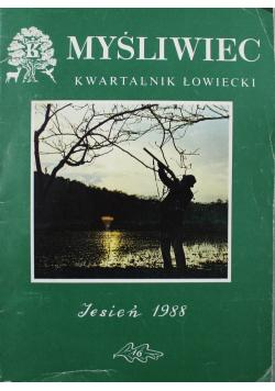 Myśliwiec Kwartalnik Łowiecki Jesień 1988 nr 16