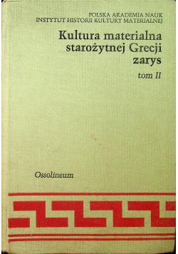 Kultura materialna starożytnej Grecji tom II