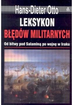 Leksykon błędów militarnych
