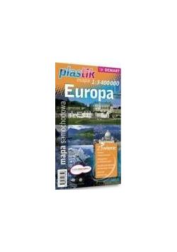 Mapa samochodowa Europa Plastik