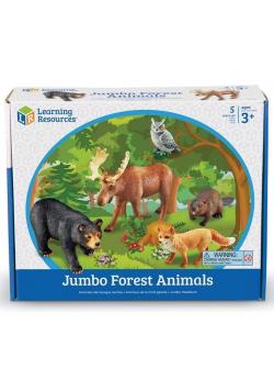 Duże Figurki. Zwierzęta leśne. Zestaw 5 szt.