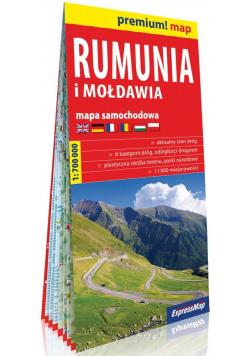 Rumunia i Mołdawia 1:700 000 mapa samochodowa