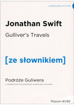 Przygody Gullivera w.angielska + słownik