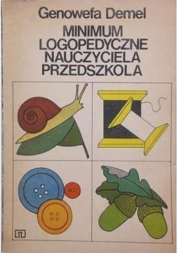 Minimum logopedyczne nauczyciela przedszkola