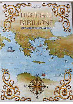 Historie Biblijne Opowiedziane Mapami