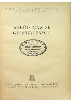 Wśród zjawisk geofizycznych 1938r