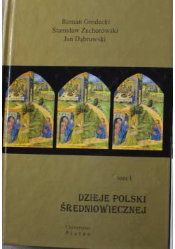 Dzieje Polski Średniowiecznej tom 1