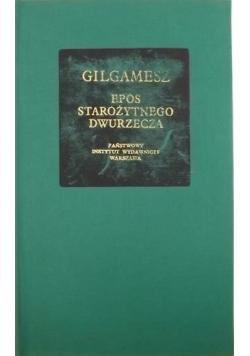 Gilgamesz Epos starożytnego dwurzecza
