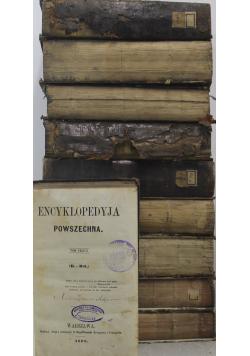 Encyklopedyja powszechna 10 tomów ok 1867 r.