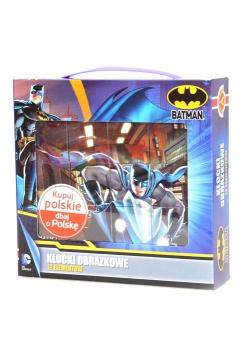 Klocki obrazkowe 12 z Okienkami - Batman ALEX
