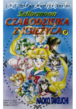 Sailormoon Czarodziejka z księżyca tom 9