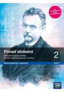 Ponad słowami Podręcznik do języka polskiego 2 część 2