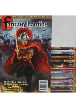 Fantasy komiks 27 tomów