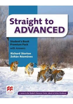 Straight to Advanced Premium Pack SB + online