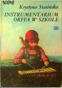 Instrumentarium Orffa w szkole