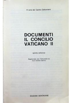 Documenti il Concilio Vaticano II