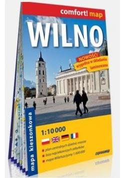 Comfort!map Wilno 1:10 000 plan miasta w.2019