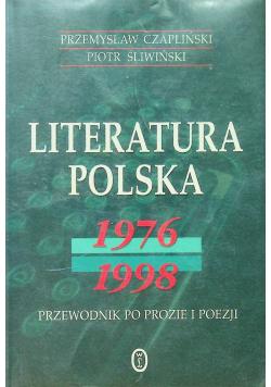 Literatura Polska 1976 1998
