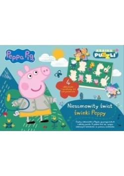 Świnka Peppa. Niesamowity świat świnki Peppy
