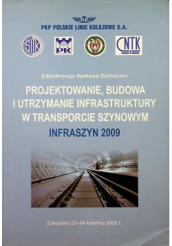 Projektowanie budowa i utrzymanie infrastruktury w transporcie szynowym 2009