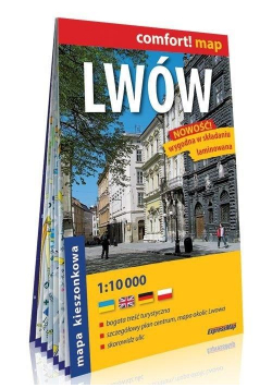 Comfort!map Lwów 1:10 000 plan miasta mini